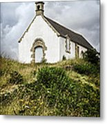 Breton Church Metal Print