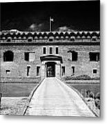 Bridge Across The Moat Sally Port Entrance To Fort Jefferson Dry Tortugas National Park Florida Keys Metal Print