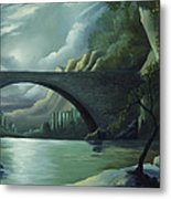 Bridge To Nowhere Metal Print
