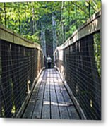 Bridge To Paradise Metal Print