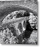 Bridge Under A Bridge Metal Print by Jane Rix