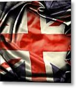 British Flag 10  Metal Print