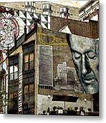 Brooklyn Grafitti Metal Print