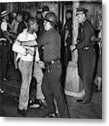 Brooklyn Riots, 1964 Metal Print