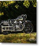 Brough Superior Ss 100 Metal Print