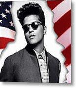 Bruno Mars Metal Print