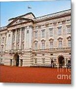Buckingham Palace In London Uk Metal Print