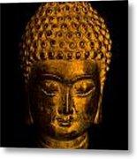 Buddha Portrait Metal Print