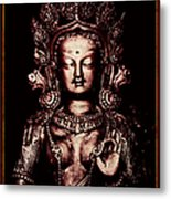 Buddhist Tara Deity Metal Print by Tim Gainey