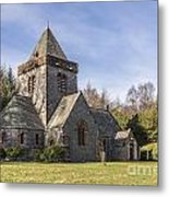 Building Church Southwick Parish Church Dumfries And Galloway Metal Print