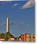 Bunker Hill Monument - Boston Metal Print