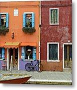 Burano Italy Metal Print