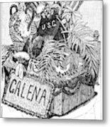 Burial Of Ulysses S Metal Print