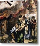 Burning Of Norfolk, 1776 Metal Print