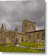 Burrishoole Friary, Ireland Metal Print