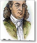 Button Gwinnett (1735-1777) Metal Print