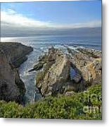 California Coast Metal Print