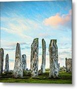 Callanish Standing Stones, Isle Of Lewis Metal Print