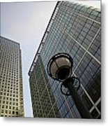 Canary Wharf London  Metal Print