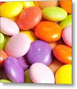 Candy Background Metal Print