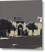 Canutillo Hacienda As Given To Pancho Villa  C.1920-2013 Metal Print