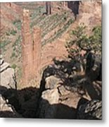 Canyon De Chelly Spider Rock Metal Print