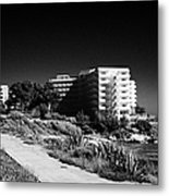 Cap De Salou Waterfront Properties On The Costa Dorada Catalonia Spain Metal Print