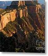 Cape Royal Glow Metal Print