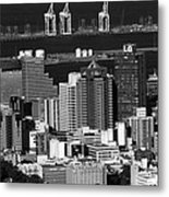 Cape Town Skyline - South Africa Metal Print