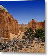 Capital Reef Metal Print