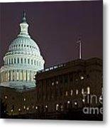 Capitol Building Washington Dc Metal Print