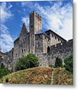 Carcassonne By Day Metal Print