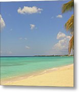 Caribbean Dream Beach Metal Print
