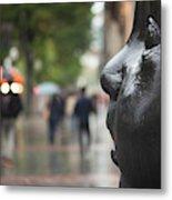 Carmen Awake Street Sculpture Metal Print