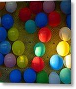 Carnival Balloons Metal Print