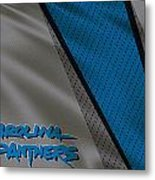 Carolina Panthers Uniform Metal Print