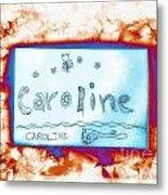 Caroline Metal Print