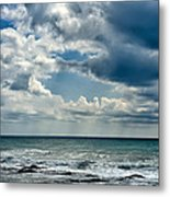 Caspian Sea. Metal Print