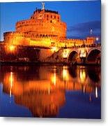 Castel Sant Angelo Metal Print by Brian Jannsen
