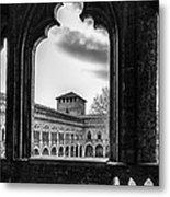 Castello Visconteo Metal Print