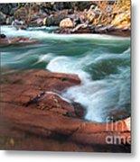 Castor River Metal Print