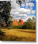 Cathedral Clearing Metal Print