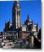 Cathedral In Salamanca Metal Print