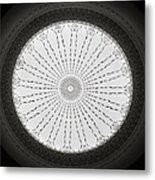 Ceiling Dome Metal Print