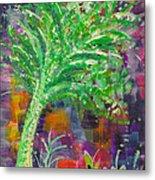 Celery Tree Metal Print