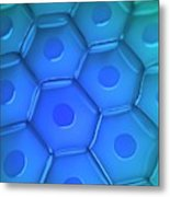 Cell Wall Metal Print