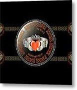 Celtic Claddagh Ring Metal Print