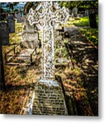 Celtic Cross Metal Print by Adrian Evans
