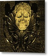 Celtic Skulls Symbolic Pathway To The Other World Metal Print