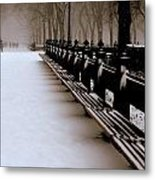 Central Park Mall Metal Print